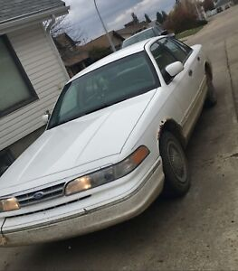 1996 crown Victoria. Passed inspection October 2018