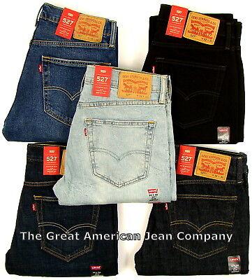 Levis 527 New Mens Slim Fit Boot Cut Levi's Bootcut Jeans