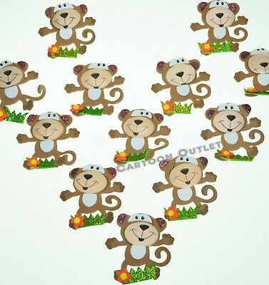 Monkey Baby Shower Centerpieces (12 BABY SHOWER MONKEY FAVORS 2.5