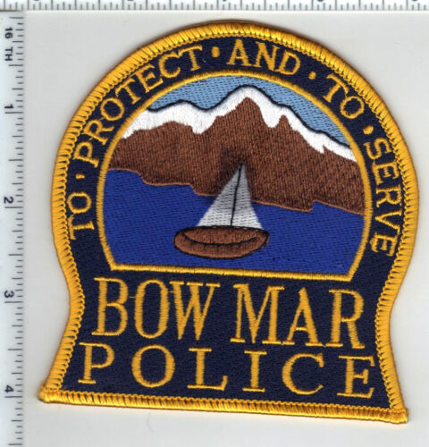 Bow Mar Police (Colorado) Shoulder Patch from the 1980s