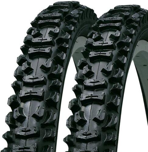 NEW (pair) 26 x 2.125 Mountain Bike Tyres - ((FREE )) Bicycle 2 Tubes 26x2.125 /