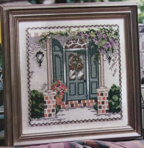 River Road Doorway, CROSS STITCH PATTERN, Lovely Design by Ursula Michael