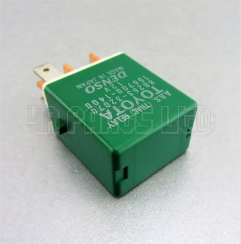 Toyota Lexus Green Relay Denso 88263-32070 (5-Pin) ABS TRAC 156700-1400