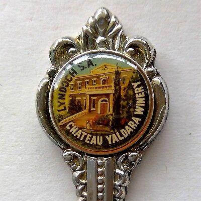 Chateau Yaldara Winery Lyndoch Barossa Valley SA Souvenir Spoon Teaspoon (T131)