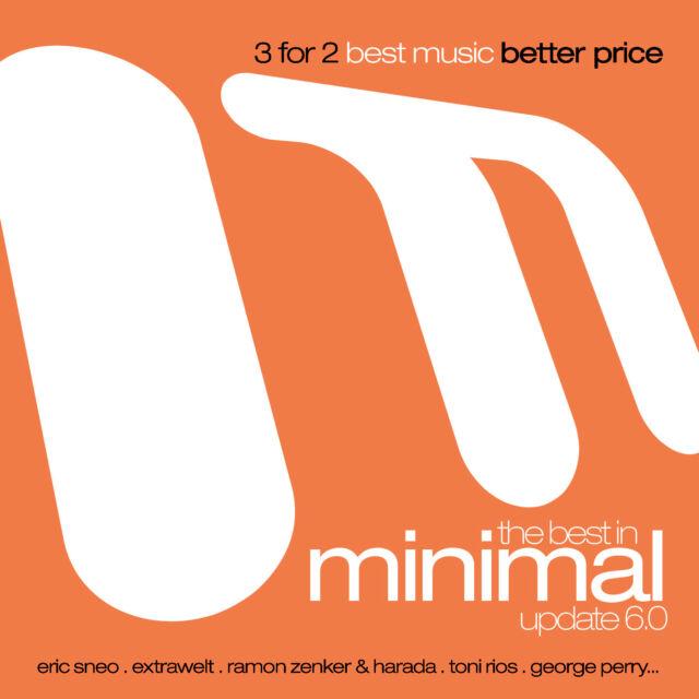 The Best In Minimal Update 6.0  - Various Artists (3CDs) Neu