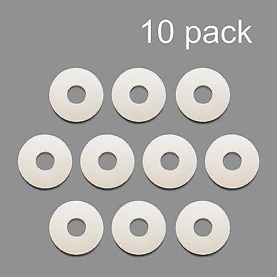 10 Pack Nylon Washer Replacement Gasket For Co2 Regulators Kegerator Draft Beer
