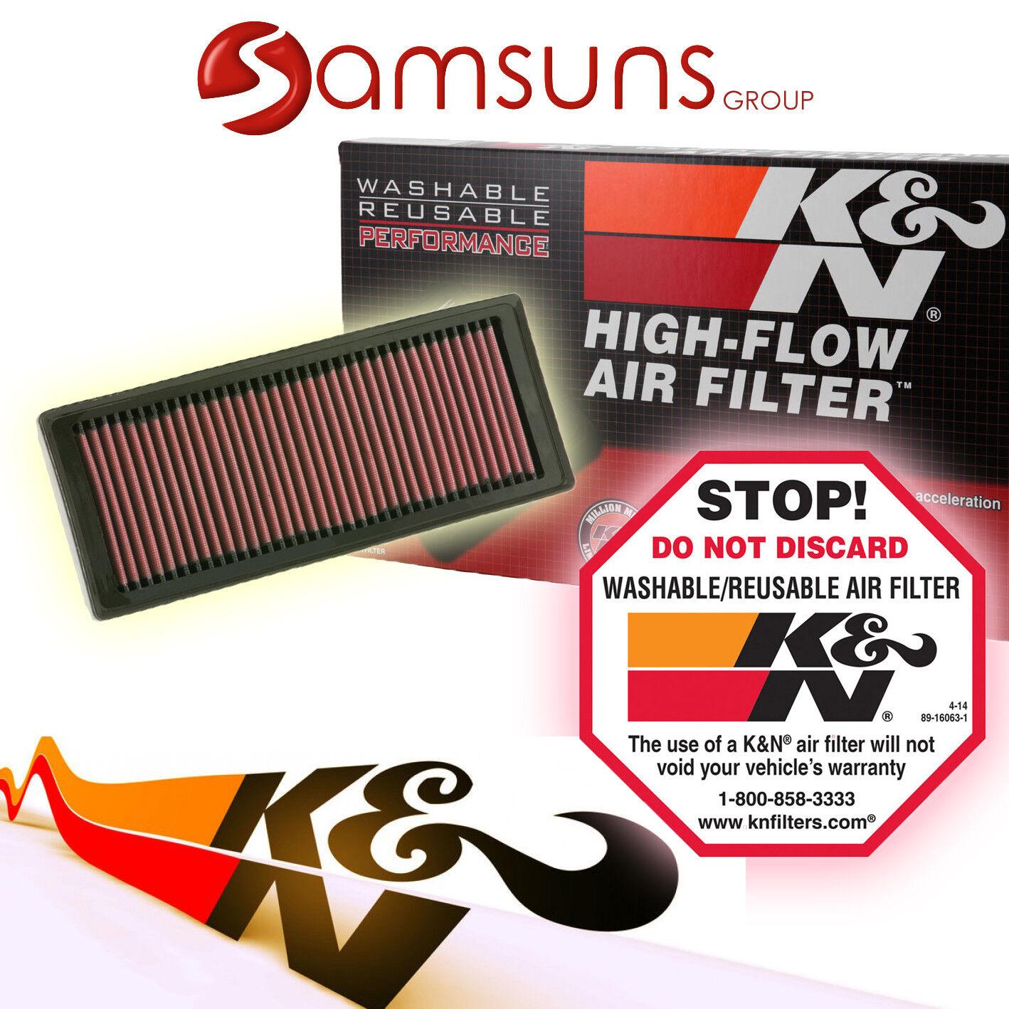 K/&N E-9231-1 Waschbarer und wiederverwendbarer KFZ Luftfilter