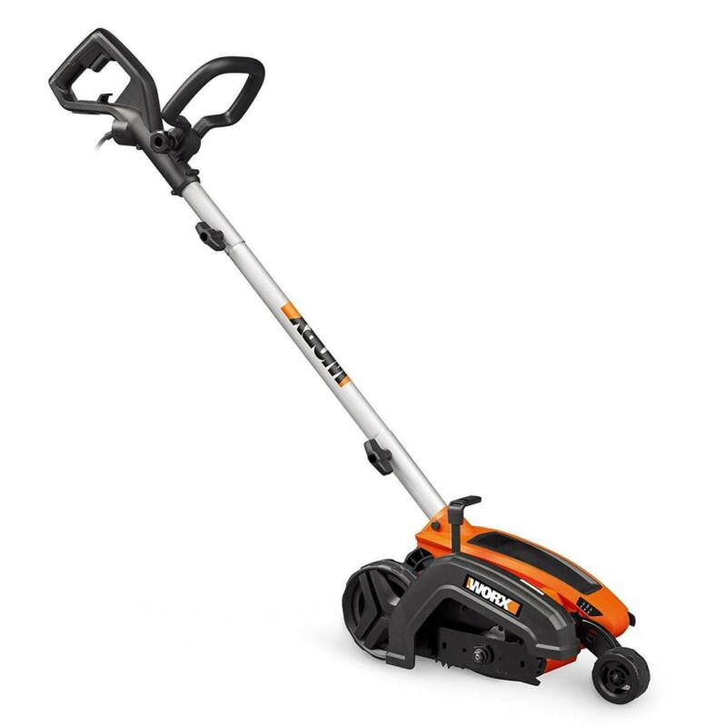 Worx 12 Amp 7.5 Inch Electric Lawn Landscape Grass Yard Edger & Trencher Trimmer
