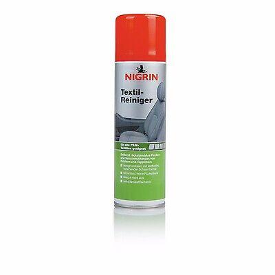 NIGRIN Textil-Reiniger 300 ml - 72981 - Polsterreiniger Textilpflege Autositz