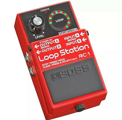 BOSS RC-1 Loop Station Effetto a pedale per chitarra