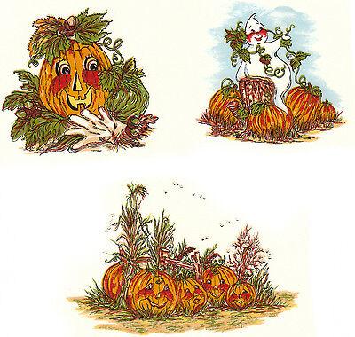 Ceramic Decals Halloween Ghost Pumpkin Patch Scenes - Halloween Lantern Craft