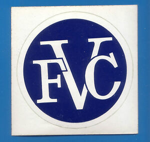 1970s Mint Original Brisbane Rugby League Fortitude Valley Sticker UnStuck 7.5cm