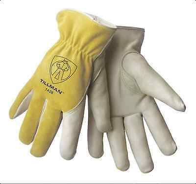 Tillman 1428 Top Grainsplit Cowhide Drivers Gloves Medium