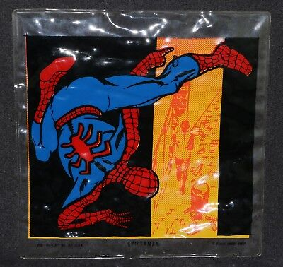 Marvel Super Heroes 1968 Spider-Man Pillow Vinyl Blow Up Kirby MMMS Mass Art