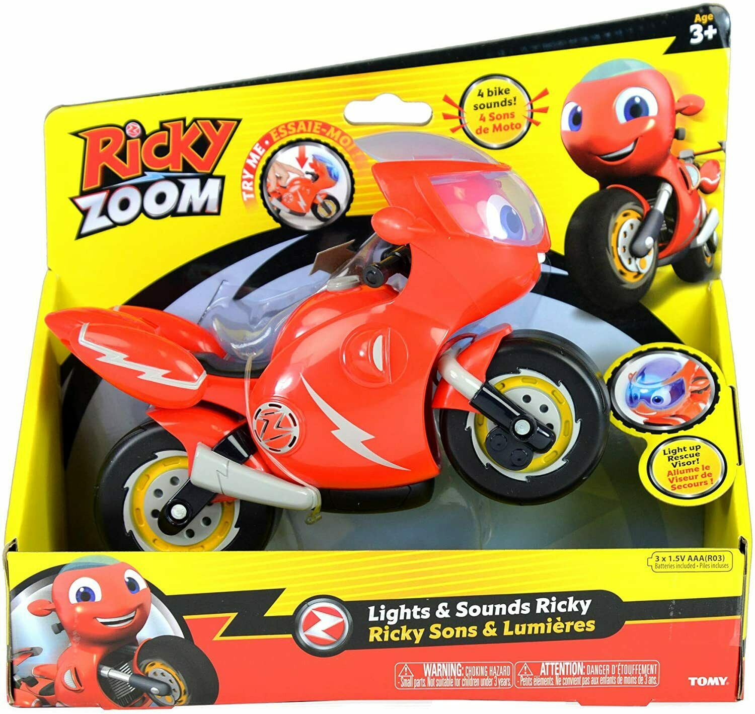 Ricky Zoom Lights & Sounds Ricky Includes 8 Sounds & Phrases For Ages 3+
