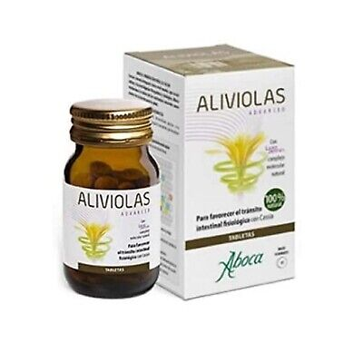 Complemento Alimenticio Aboca Aliviolas Advanced 90 tabletas Tracto Intestinal