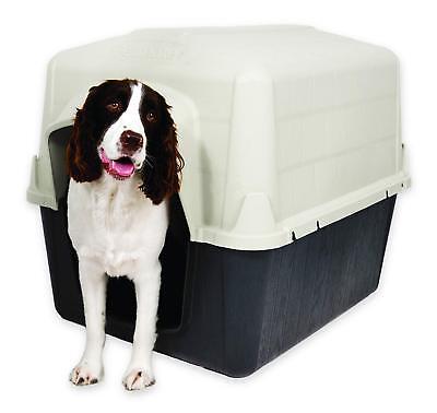 Dog House Shelter Large Plastic Lightweight Puppy Enclosure Outdoor Pen Kennel