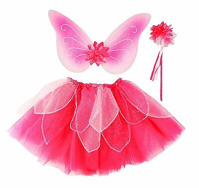 FANCY FLUTTER Fairy Dress-Up Skirt Set, Size 4-7 by Creative - Female Halloween Costumes Creative