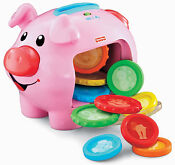 Fisher Price Piggy Bank Coins