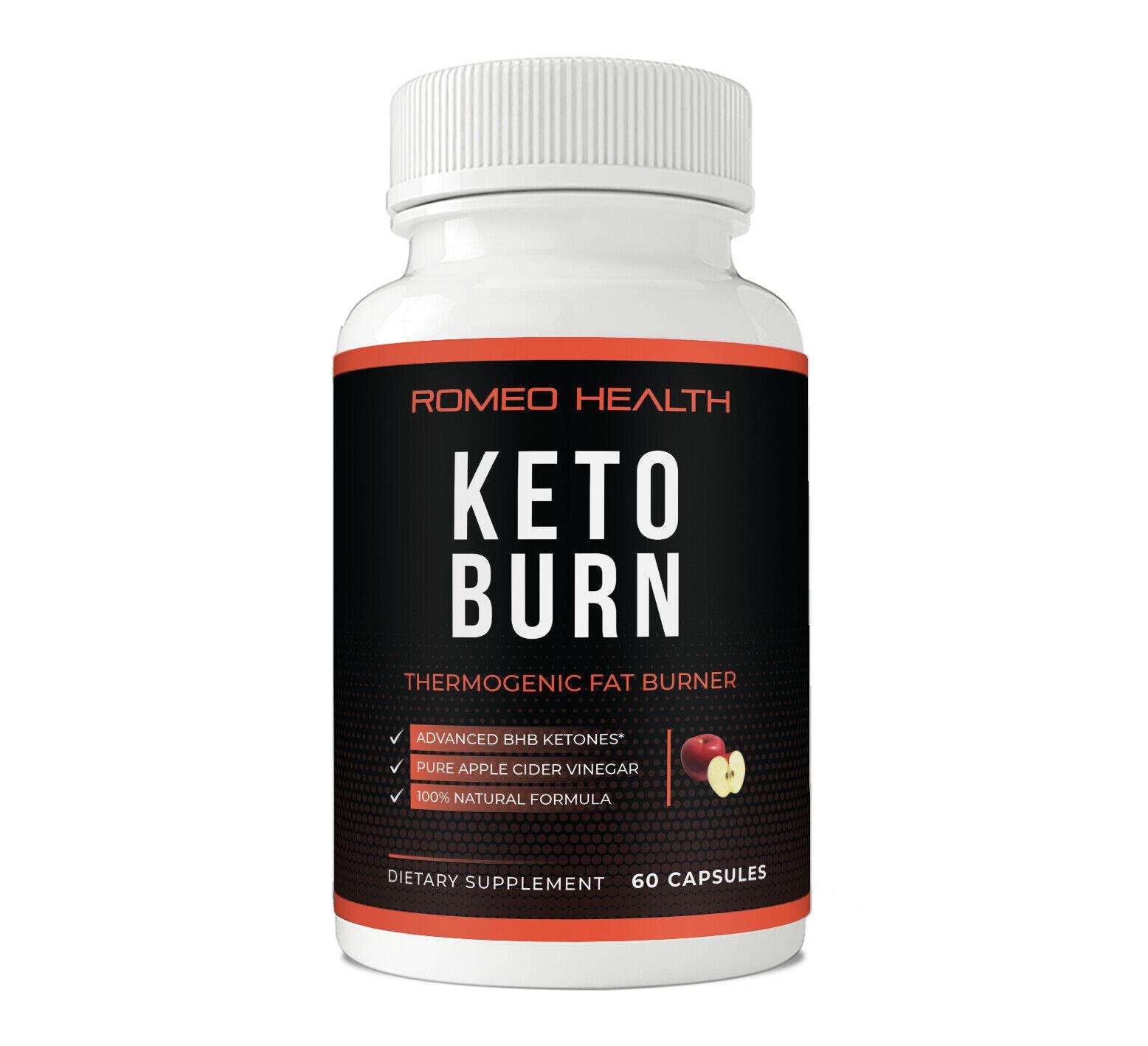 Weight Loss Pills Raspberry Ketone Apple Cider Vinegar Keto Diet Supplement 1