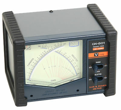 Daiwa CN-801V SWR & Power Meter 140-525 MHz Two Way Amateur Ham Commercial Radio