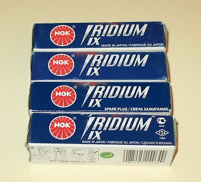 Set of 4 Genuine NGK Iridium BKR5EIX11 5464 Spark Plugs. Made in Japan/US Seller