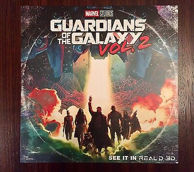 Guardians Of The Galaxy Vol 2 Double Feature Exclusive Poster Marvel AMC Regal