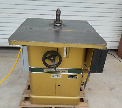 Powermatic Model 26 Shaper 5hp 3 Phase