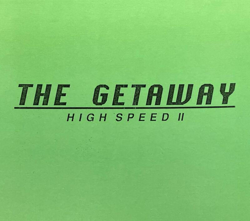 Williams The Getaway Pinball Machine Game Manual Schematics