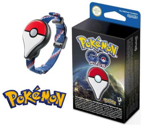 Genuine Nintendo Pokemon Go Plus Bluetooth Bracelet Wristband, NEW