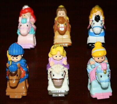 Lot of 6 Little People Disney Princess Prince  Klip Klop Horse Clip Clop #2