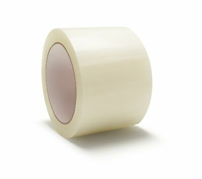 Hot Melt Packing Packaging Tape 3 X 55 Yards Clear 3 Mil 6 Rolls