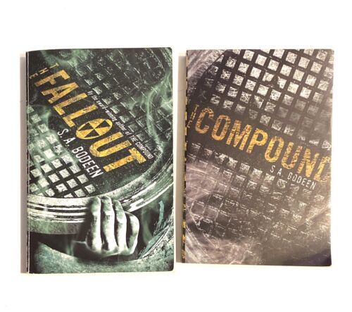 S.A. Bodeen - Compound And Fallout Paperback Lot Of 2 - $14.00