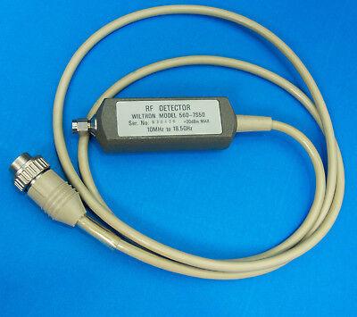 Wiltron Anritsu 560-7s50 Rf Detector For Scalar Analyzer 10mhz-18.5ghz Working