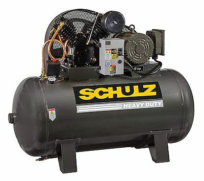 Schulz Air Compressor - 5hp- Single Phase - 80 Gallons Tank - 20cfm - 175 Psi