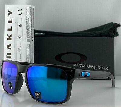 Oakley HOLBROOK Sunglasses OO9102-F555 Polished Black W/ PRIZM Sapphire (Oakley Holbrook Prizm Lenses)