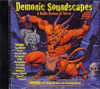 Halloween-sounds, Horror Musik (DEMONIC SOUNDSCAPES: 8 Audio Scenes of Terror HAUNTED HALLOWEEN SOUNDS OF HORROR)