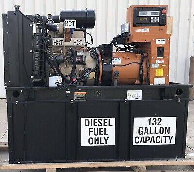 30 Kw Generator Diesel John Deere 4024tf 30 Kw Tier 2 Emission 330 Hours 120240