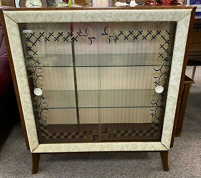 Rare Original Hubbinet Vintage Drinks Display Cocktail Cabinet