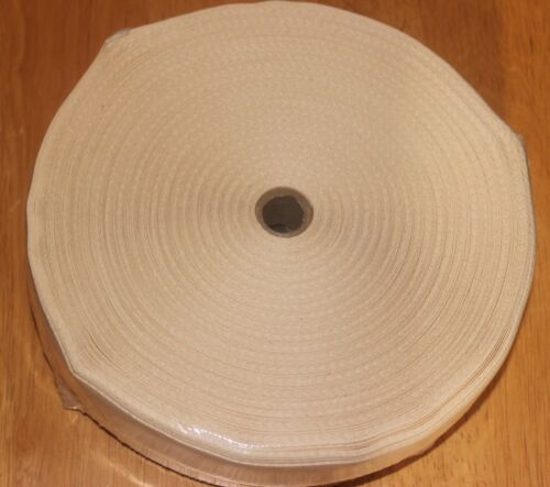 1 1/4 Inch NATURAL Cotton Rug Binding Tape for Rug Hooking 10 Yards