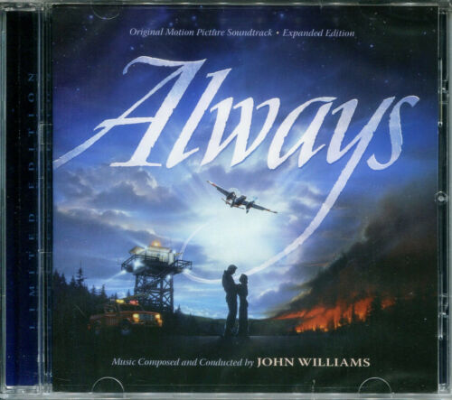 John Williams ALWAYS Limited Edition EXPANDED SOUNDTRACK Score NEW SEALED CD