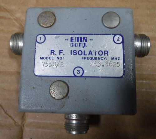EMR 7550/2    RF ISOLATOR   FREE SHIPPING