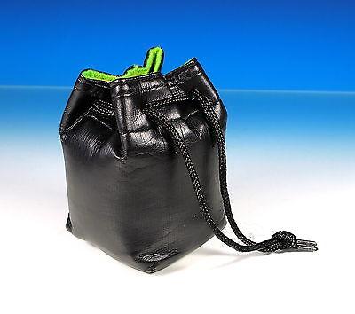 Objektiv Köcher Leder lens case leather Etui sac en cuir - (101125) - Leder Lens Case