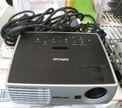 InFocus IN1100 Projector w/ Bag & Cables