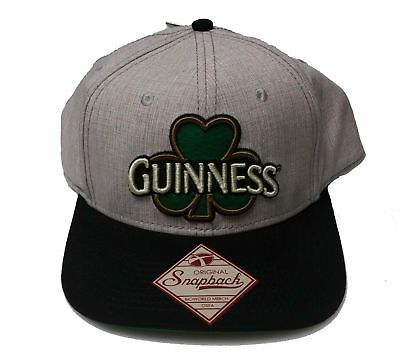 New Guinness Beer Embroidered Snapback Hat Baseball Cap