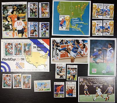 Collection, 1994 World Cup, soccer, football, MNH (12)