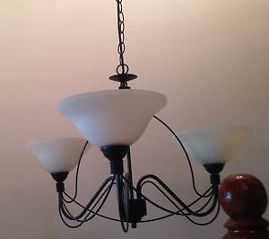 LOVELY WROUGHT IRON CEILING LIGHT San Remo Wyong Area Preview