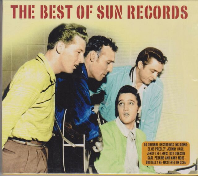 THE BEST OF SUN RECORDS - VARIOUS - 2 CD's - NEW -
