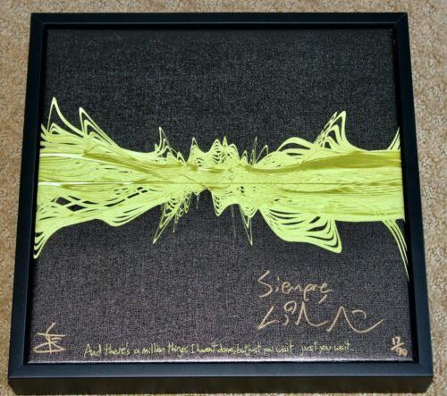 Lin Manuel Miranda Hand Signed Hamilton ALEXANDER HAMILTON Canvas Art Artwork