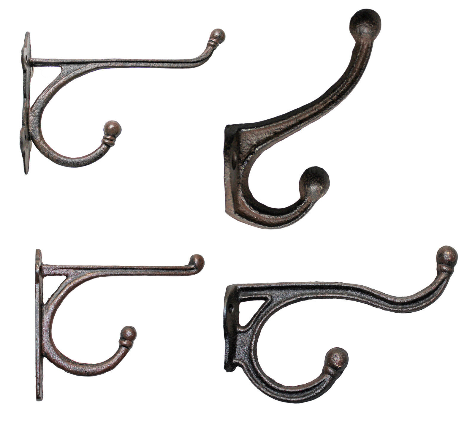 Garderobenhaken Kleiderhaken Gusseisen Werkzeughalter Wand Haken Huthaken